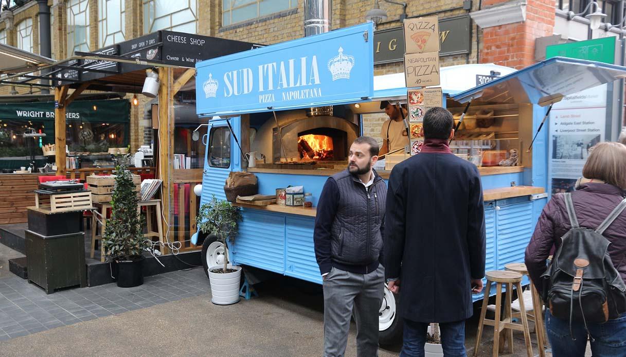 A Londra, i luoghi in disuso sono valorizzati dal cibo italiano, ecco come