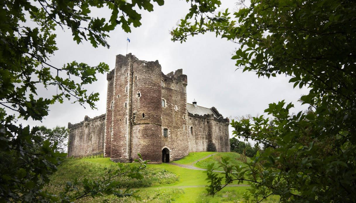 Doune Castle in Scozia