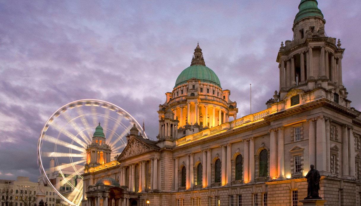 La città di Belfast