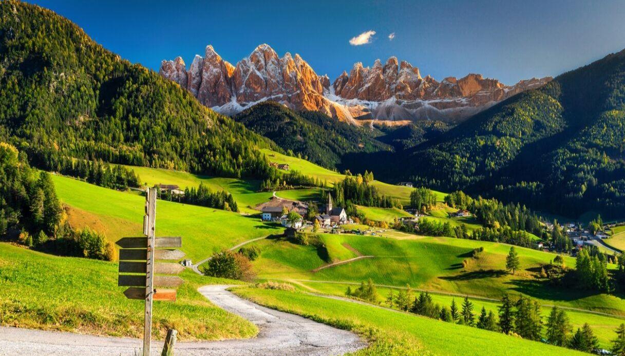 Le montagne italiane che piacciono alle celebrity