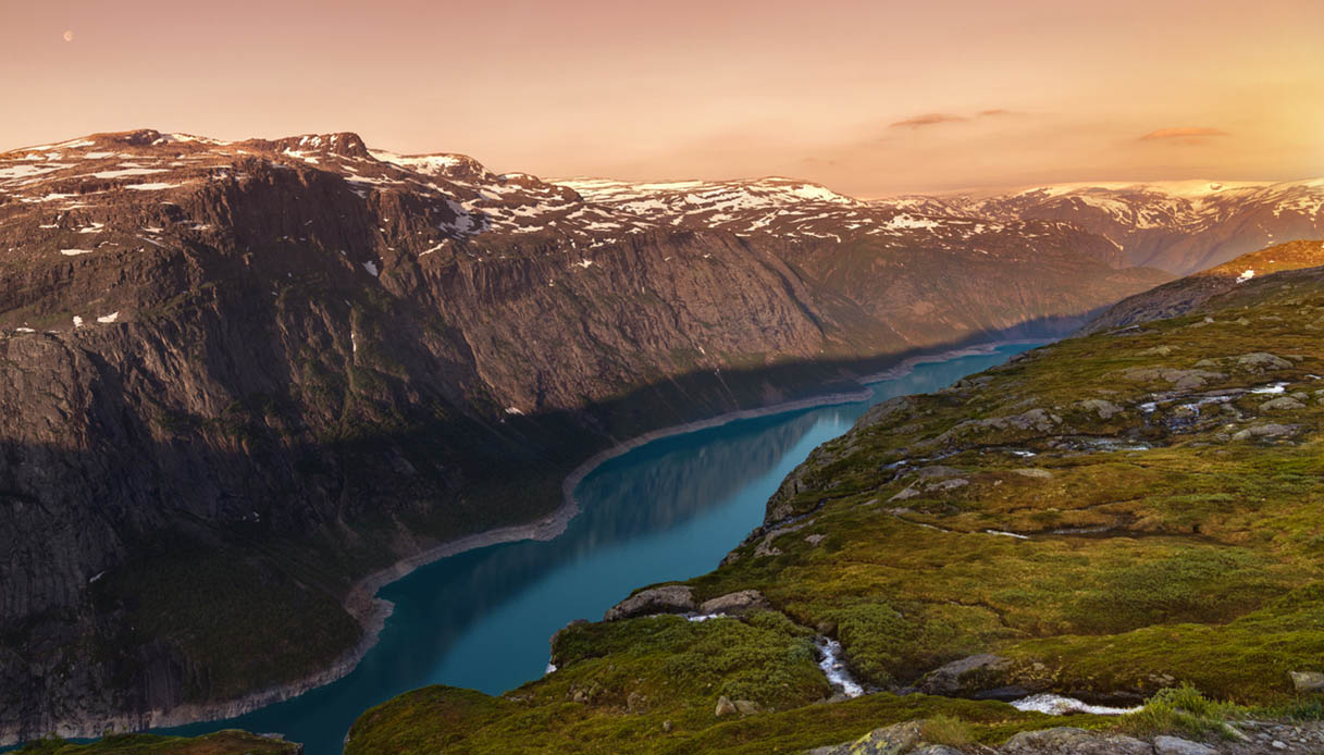 dormire nei boschi in Norvegia