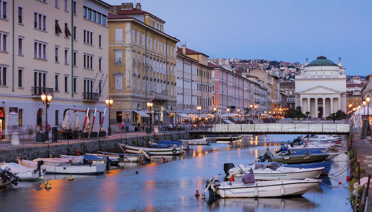Ponte Rosso, Trieste