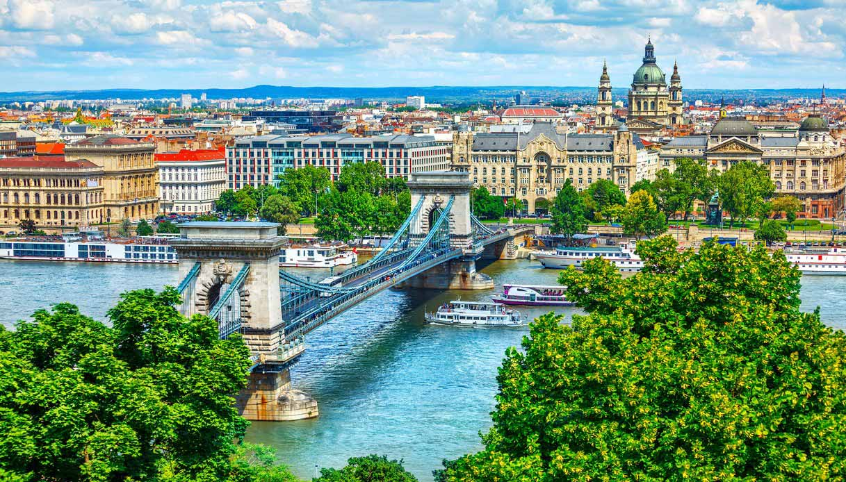 Budapest ponte sul Danubio