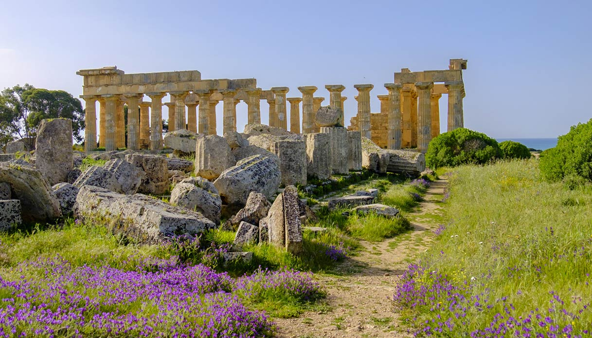 Resti storici a Selinunte