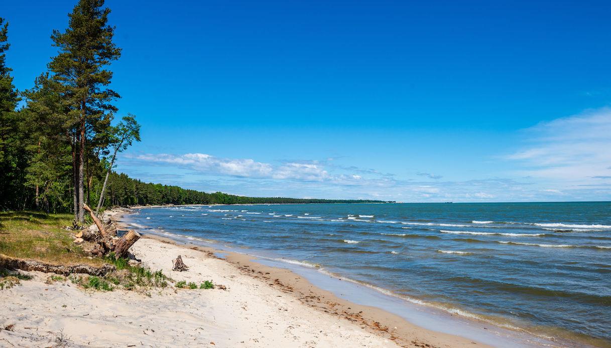 spiaggia Hiiumaa
