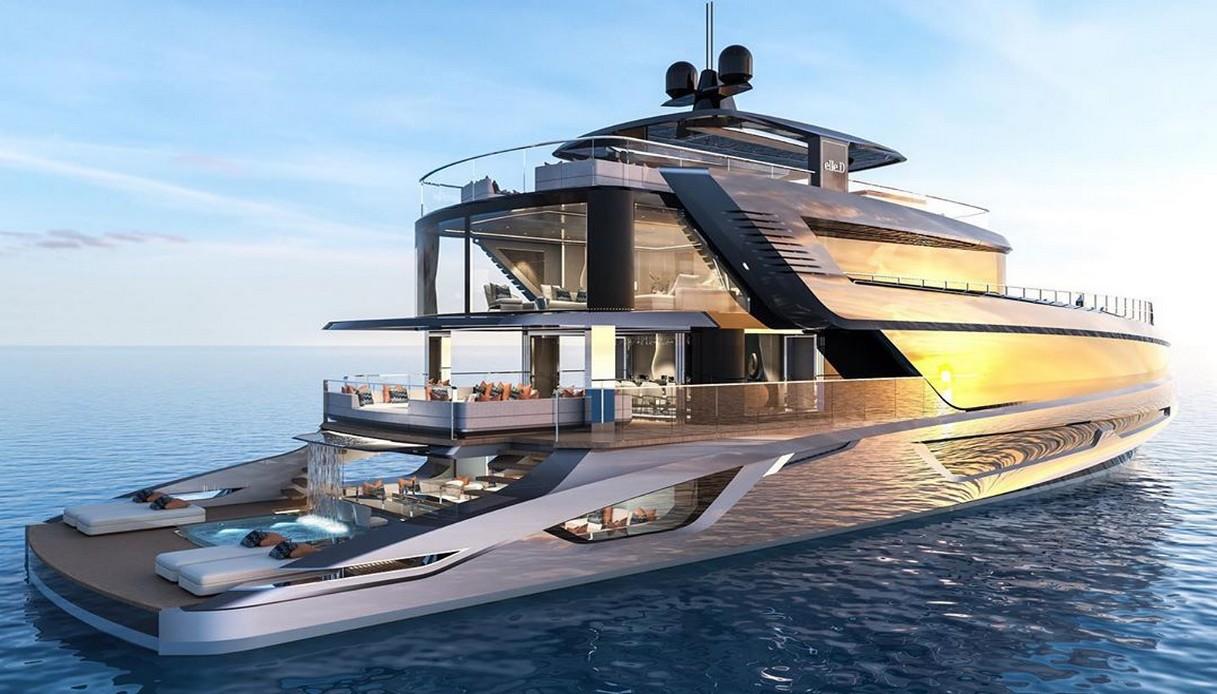 superyacht Elle D