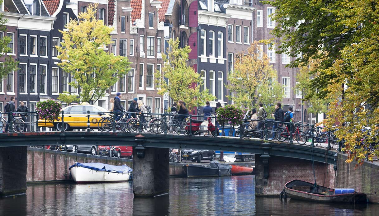 Taxi ad Amsterdam