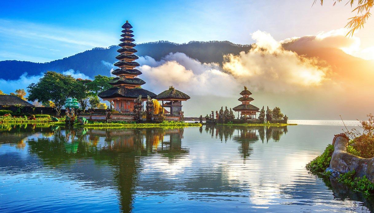 Tempio nell'Isola di Bali