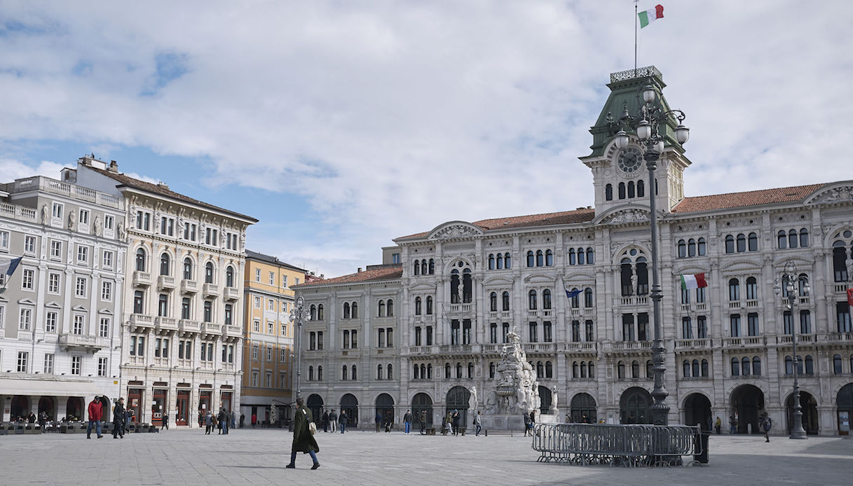 Municipio in Piazza Unità d'Italia, Trieste