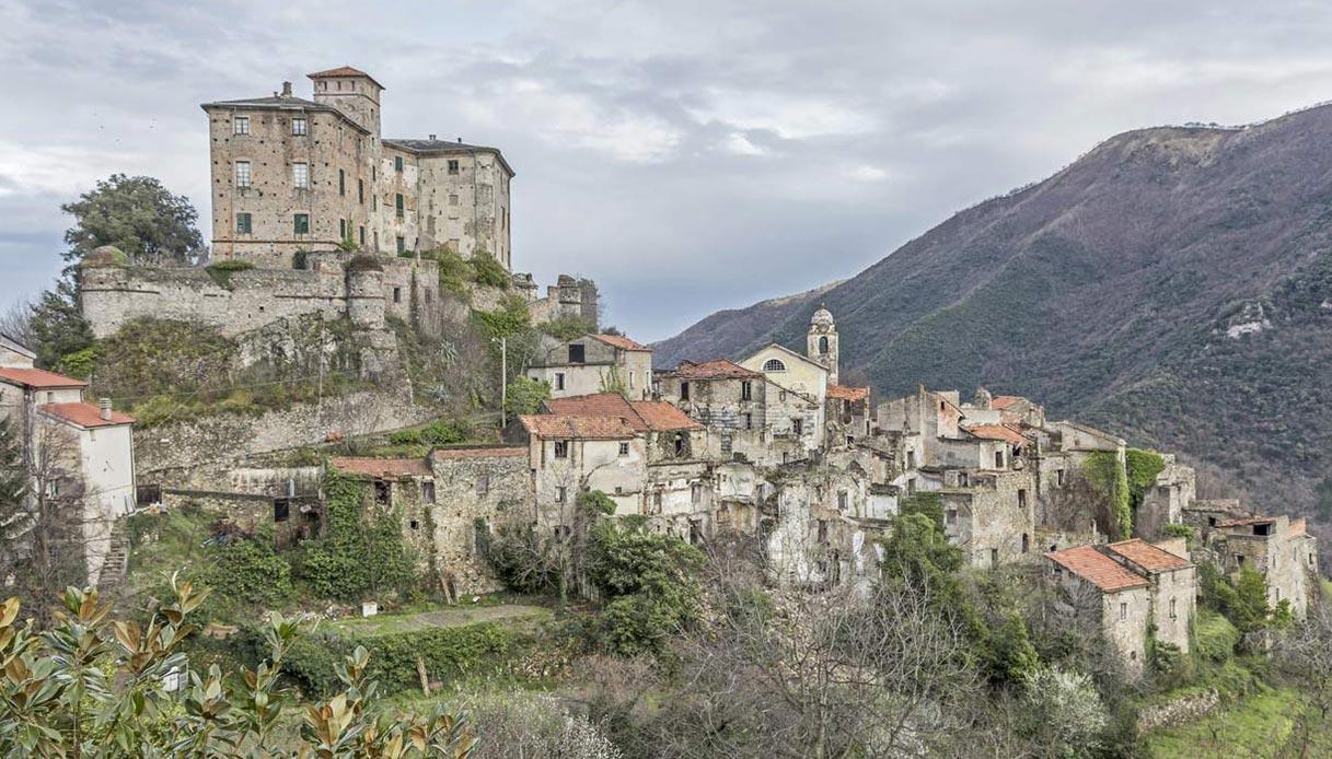 Balestrino, il borgo fantasma in Liguria