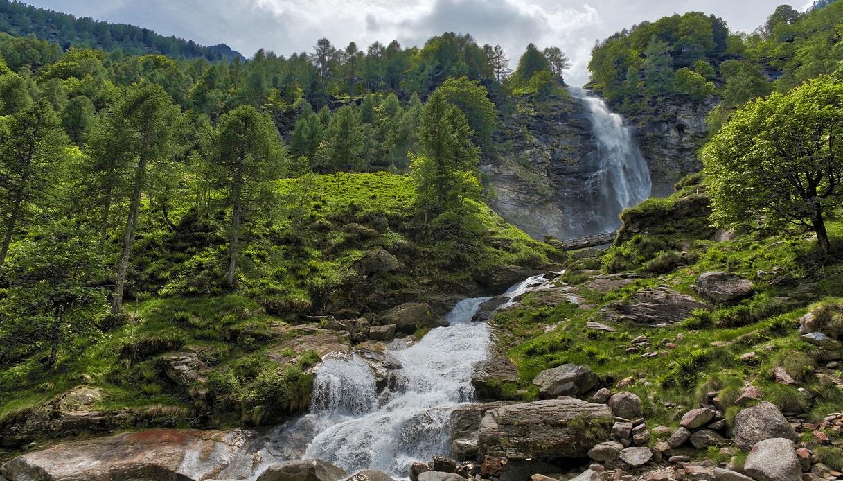 Cascata della Froda Val Verzasca