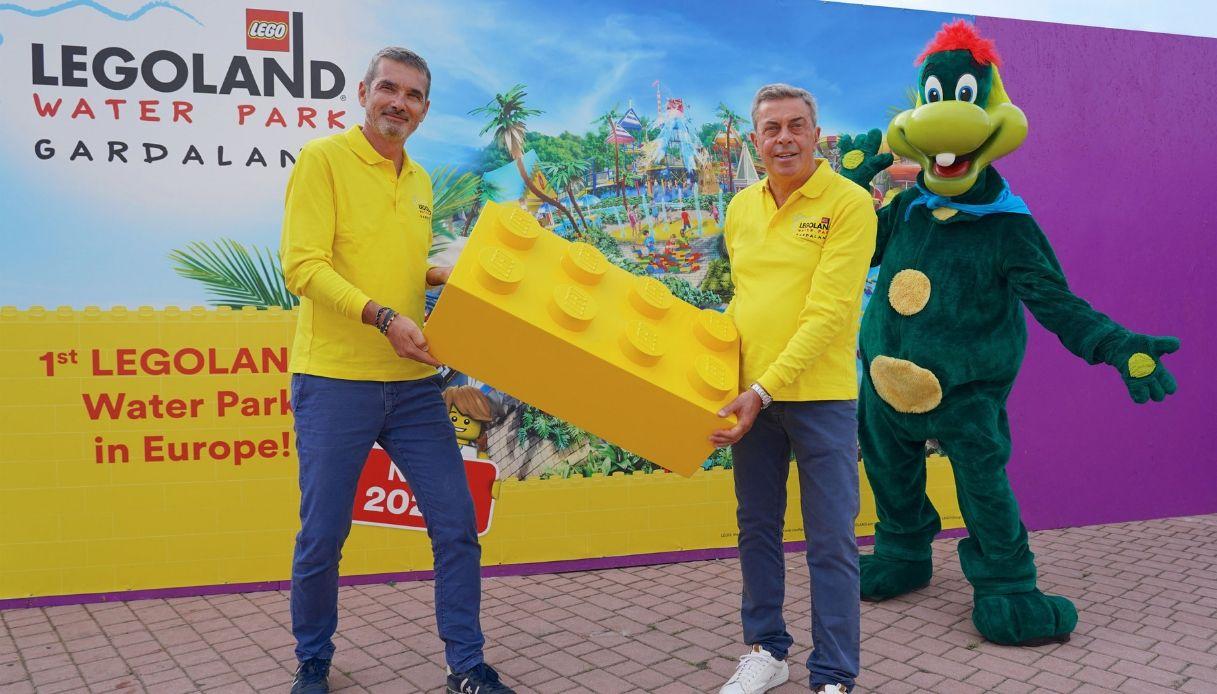 A Gardaland sono iniziati i lavori per il LEGOLAND® Water Park