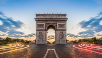 L'Arco di Trionfo, a Parigi, cambierà presto volto grazie a Christo