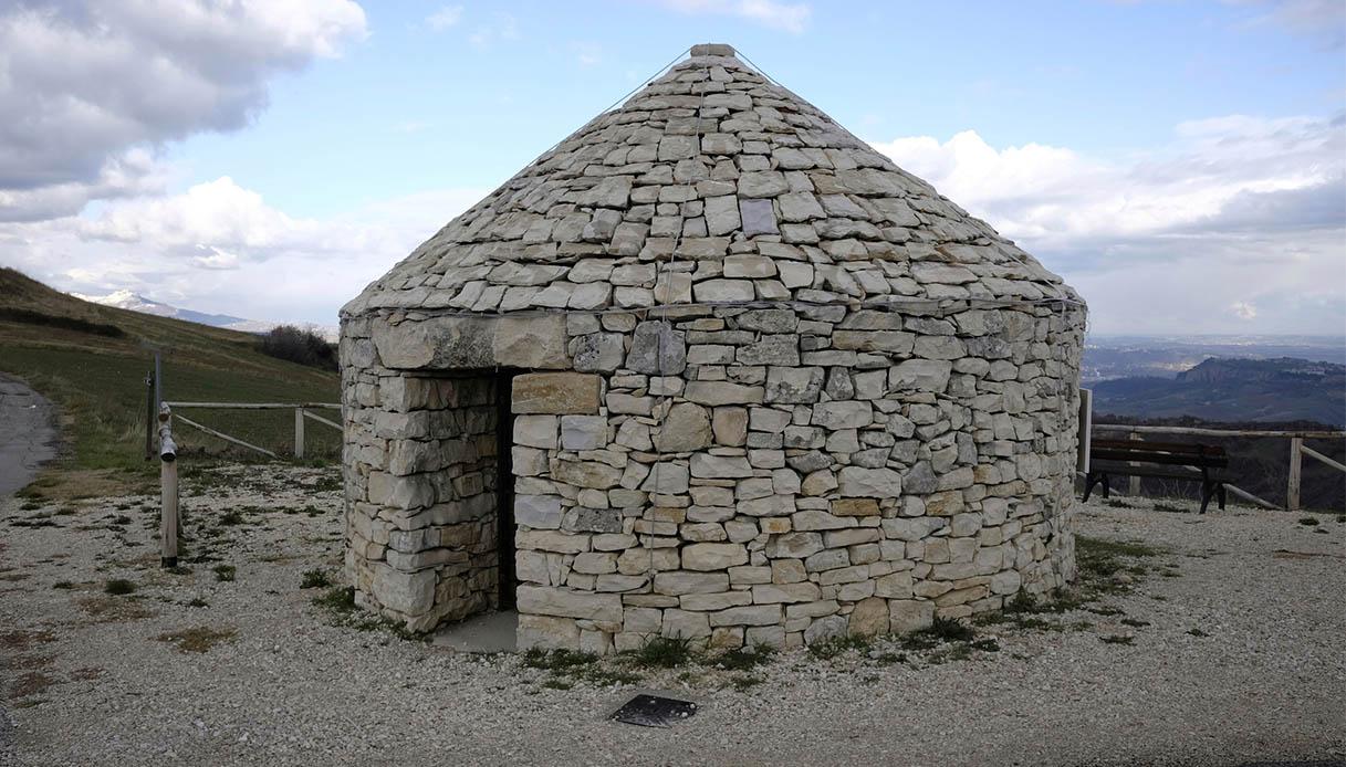 Cosa sono e a cosa servivano queste capanne di pietra