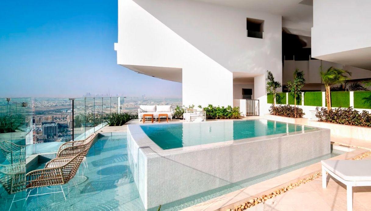 Camere Da Letto Piu Belle Del Mondo a dubai nasce il super hotel con 269 piscine | siviaggia