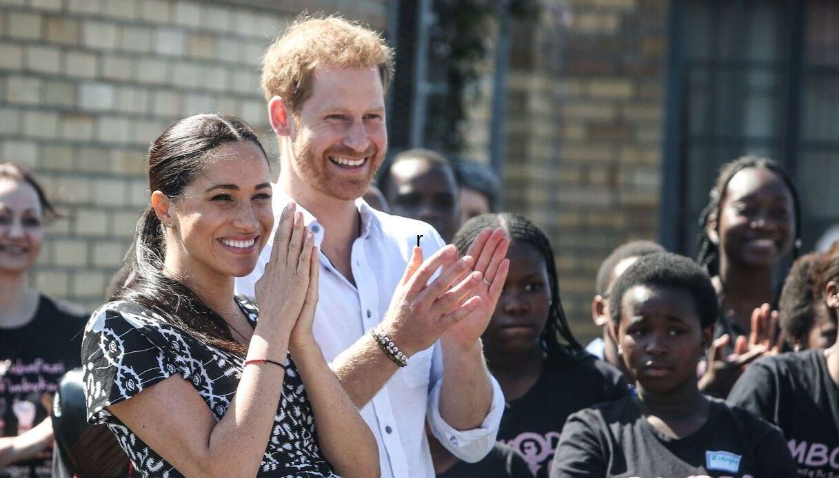Harry e Meghan Africa