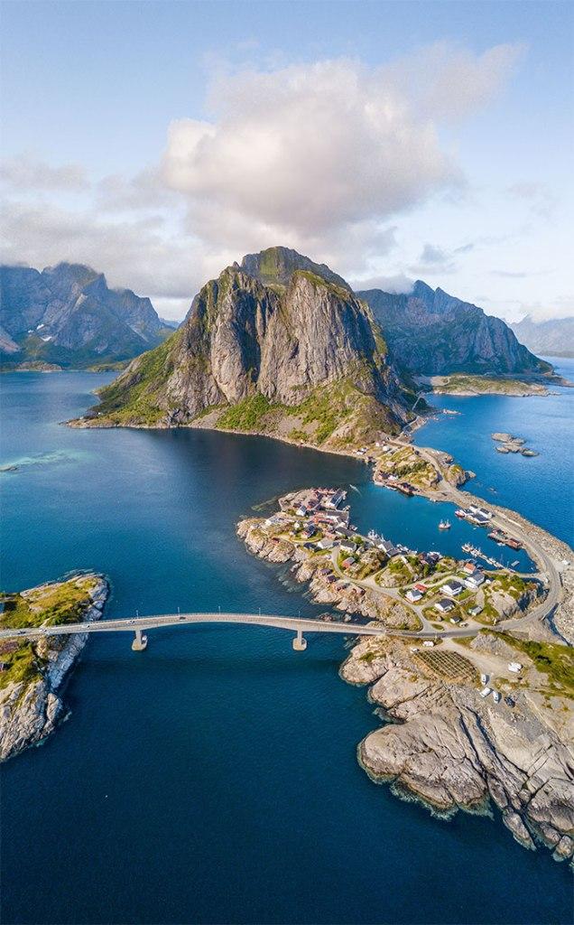 Isole Lofoten Hamnoy
