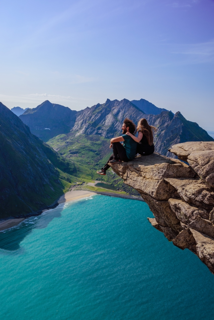 Isole Lofoten d'estate - Ryten