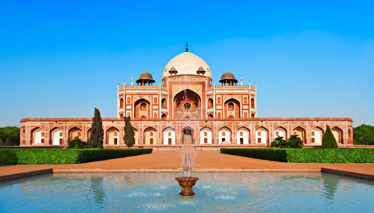 Tomba di Humayun, Nuova Delhi