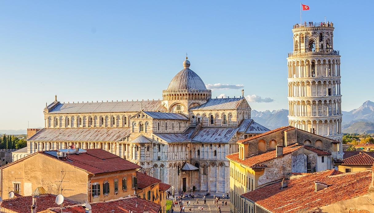 Veduta di Pisa