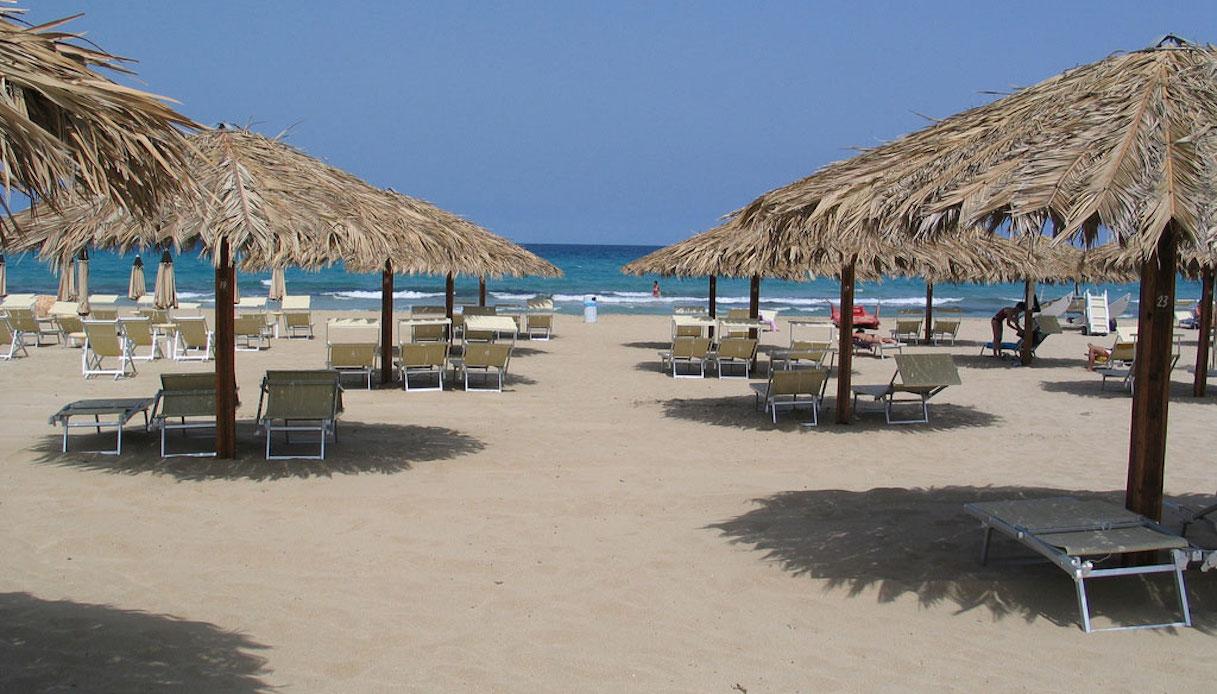 La spiaggia di San Lorenzo