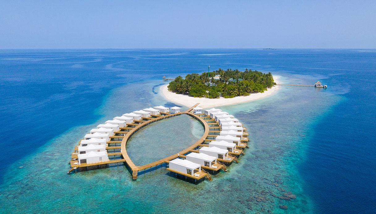 Sull'isola di Bathala, alle Maldive, nascerà un villaggio eco tutto italiano