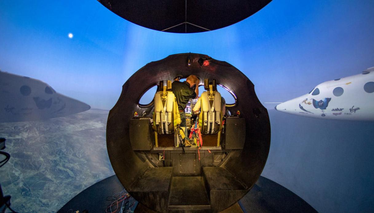 L'aeroporto spaziale da cui partiranno gli i turisti astronauti della Virgin