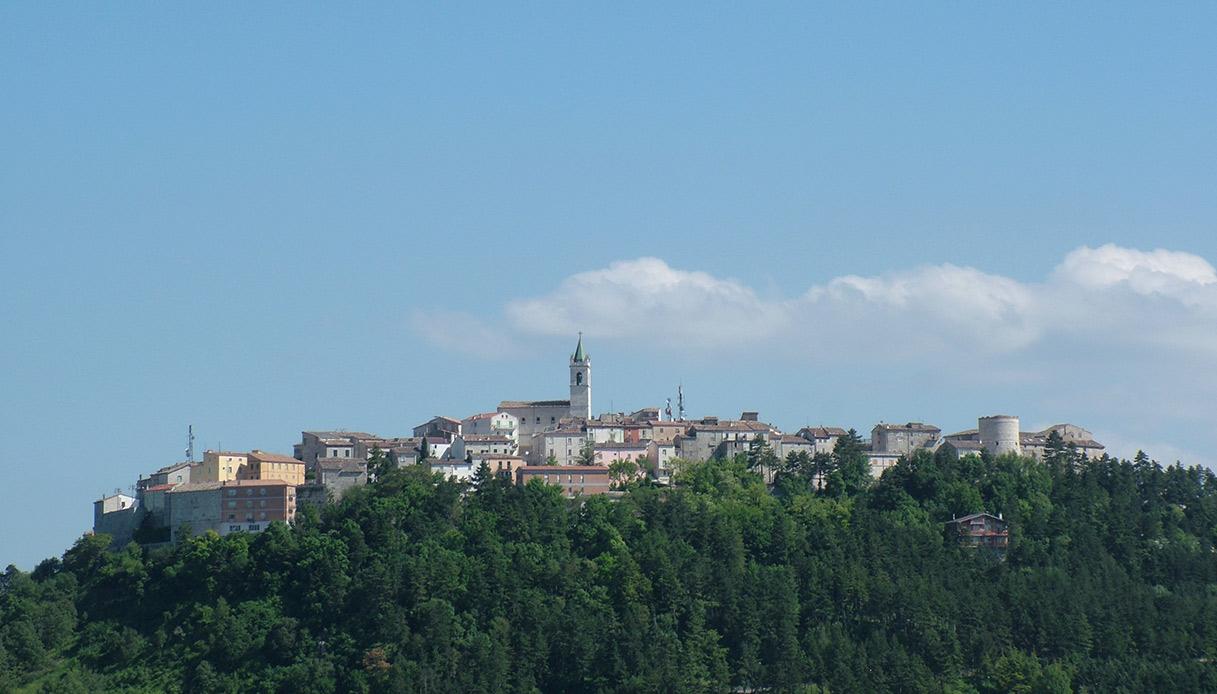 Vista di Ferrazzano