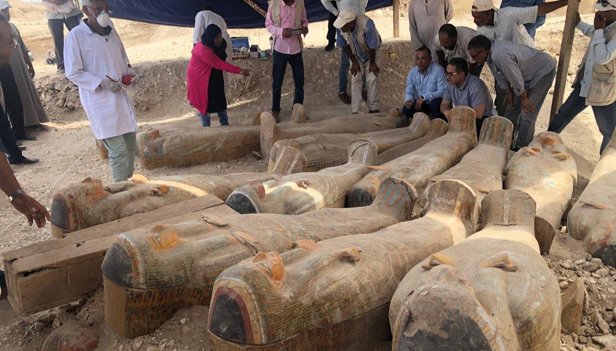 sarcofagi in egitto