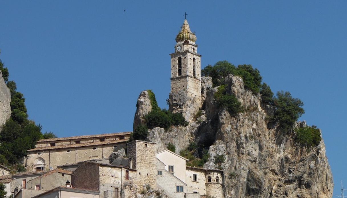 Il campanile della Chiesa di San Silvestro Papa