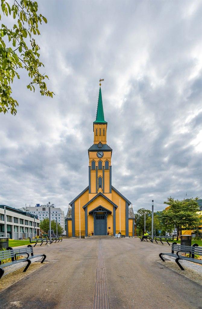 Cattedrale di Tromsø norvegia