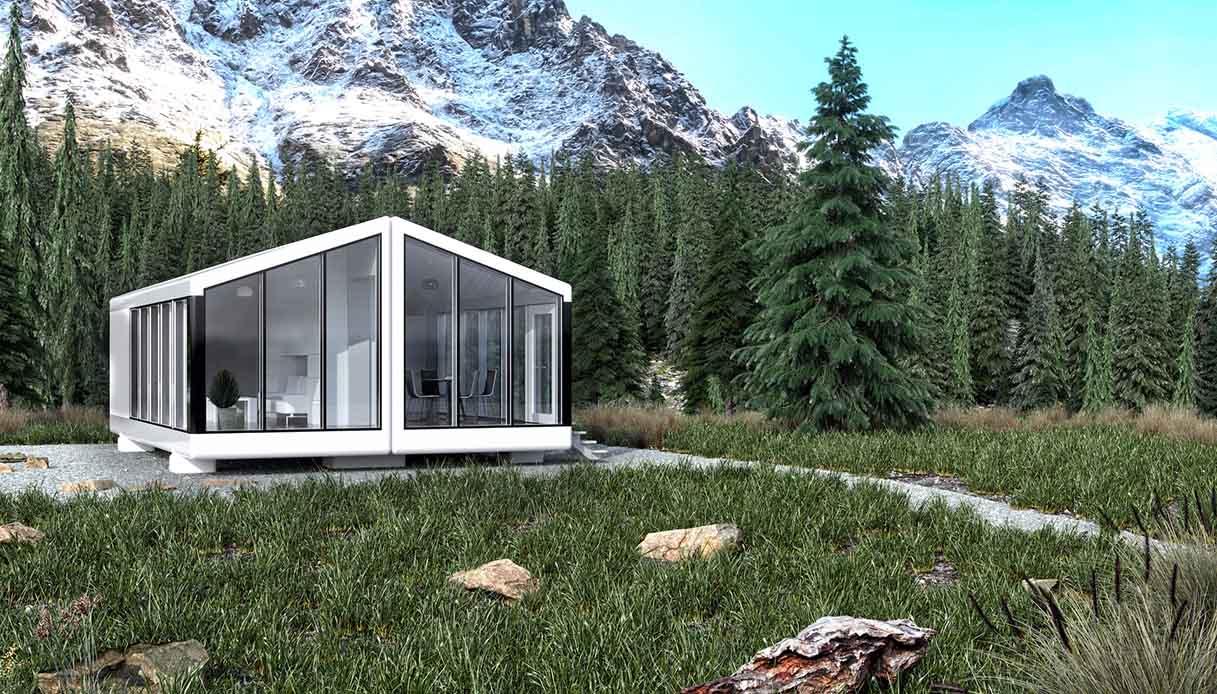 La casa del futuro potrebbe essere questa: stampata in 3d e spedita ovunque