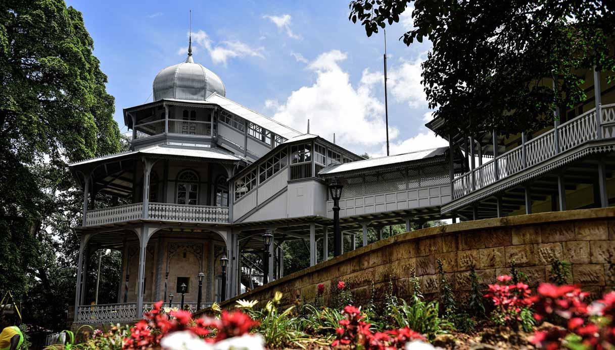 La Egghouse dello Unity Park di Addis Abeba