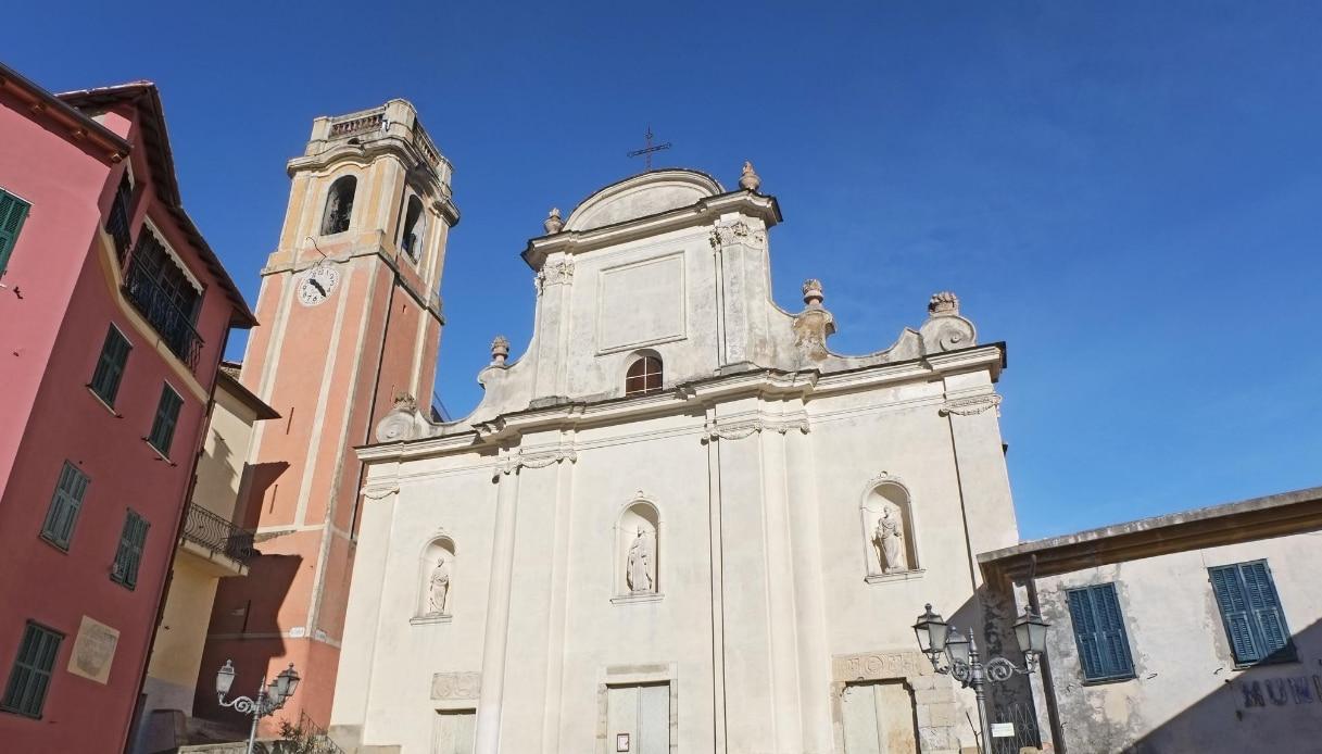 chiesa San Nicolò da Bari a Perinaldo
