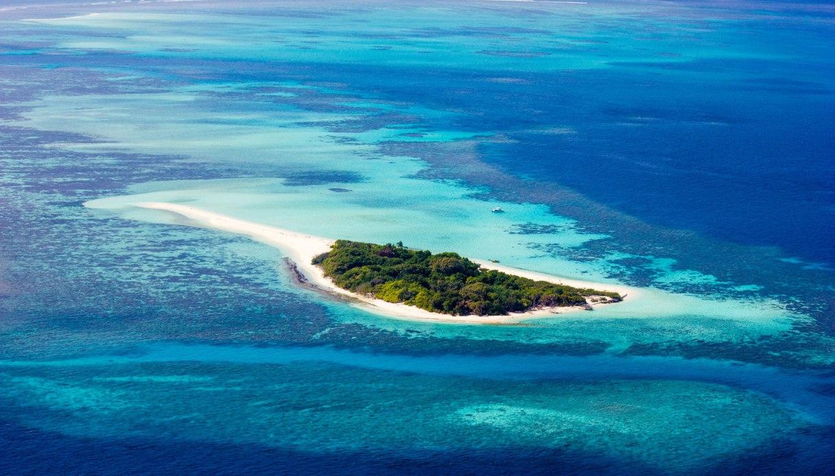 Maagau Island, le Maldive scelte da Belen Rodriguez per la sua fuga d'amore