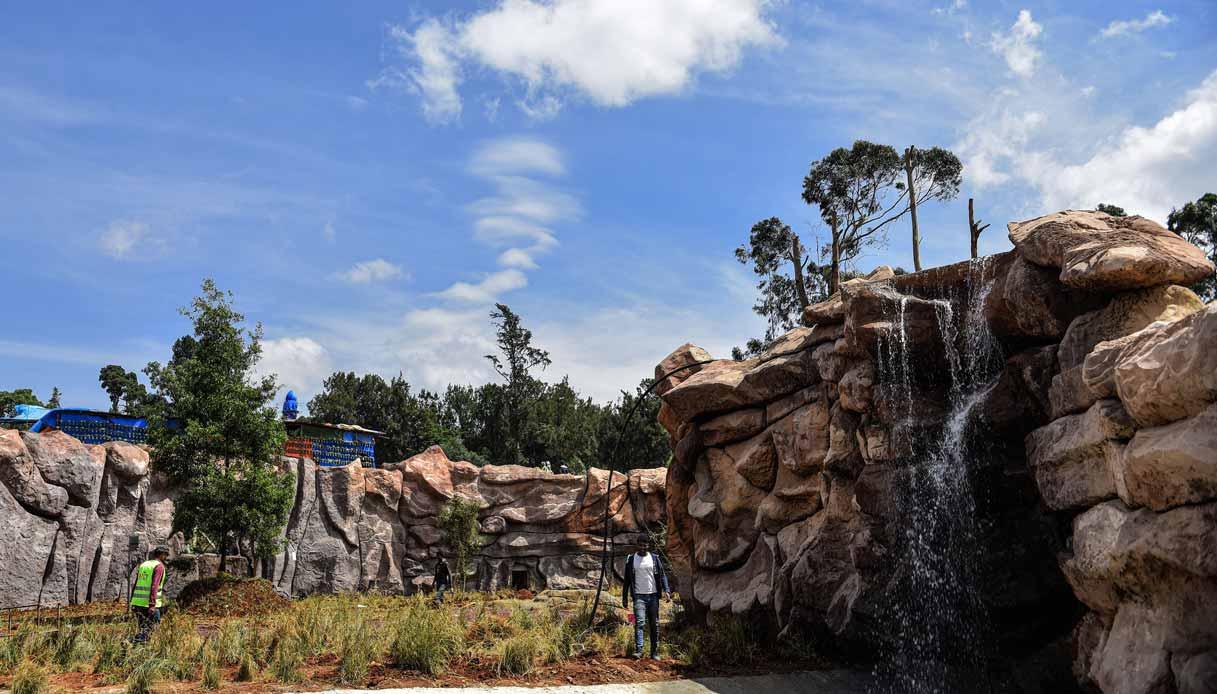 Parco del palazzo imperiale di Addis Abeba