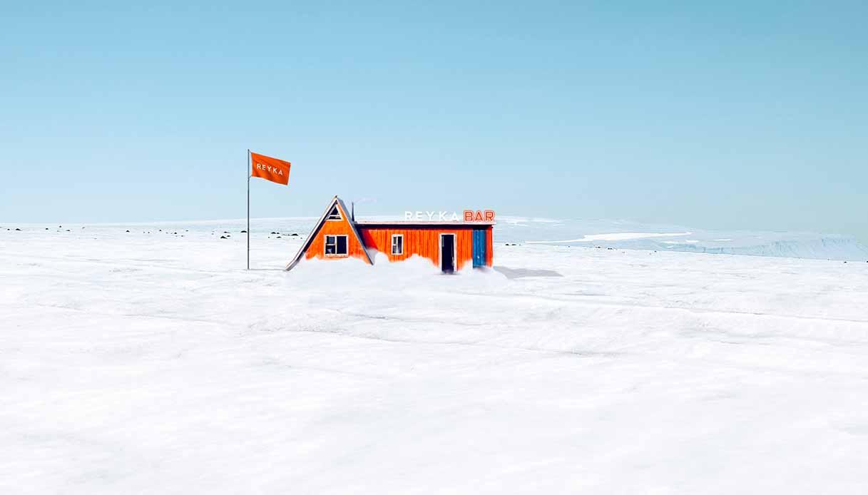 A Langjökull, in Islanda, nascerà il primo bar al mondo su un ghiacciaio