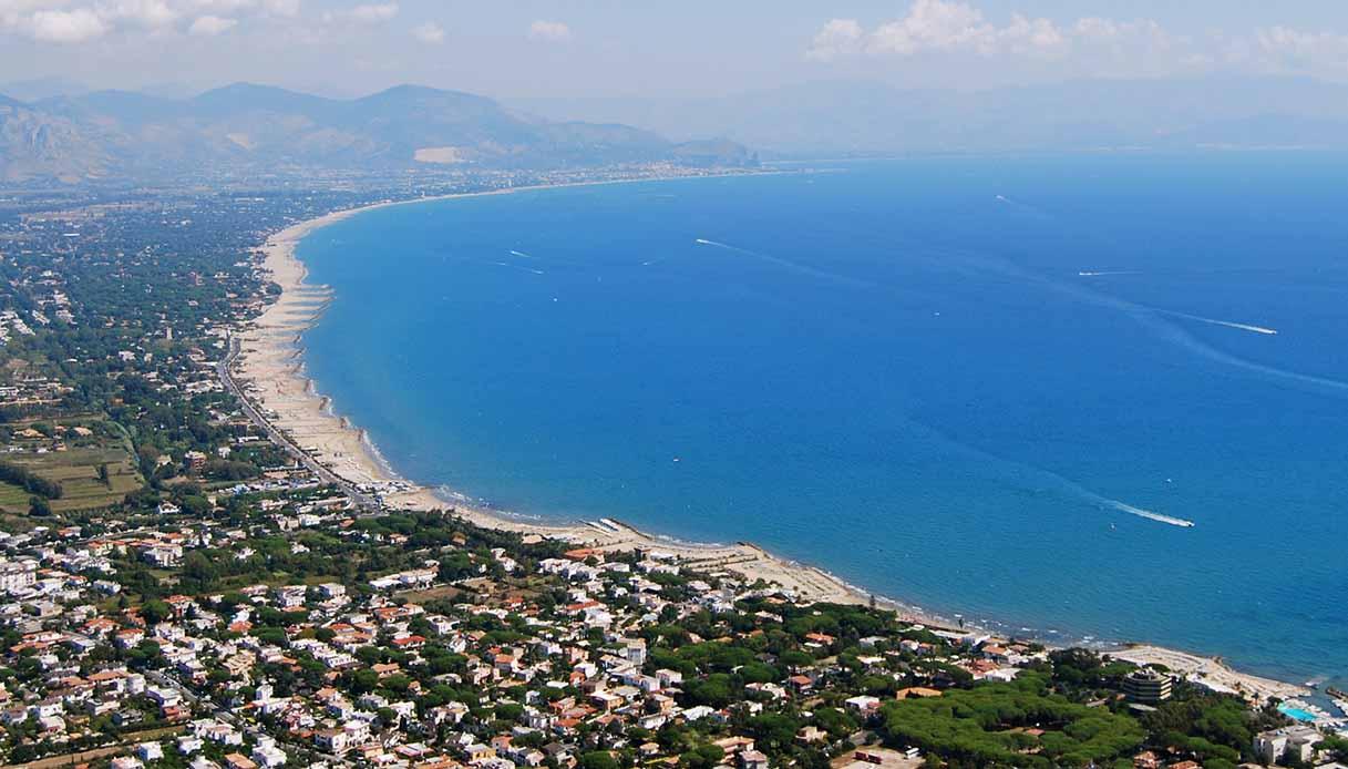 La spiaggia di San Felice Circeo