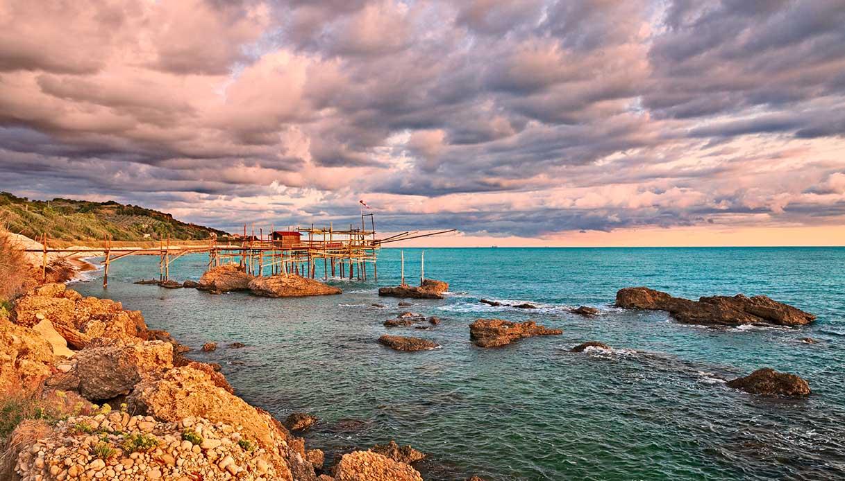 Cosa sono i trabocchi, le palafitte sul mare Adriatico