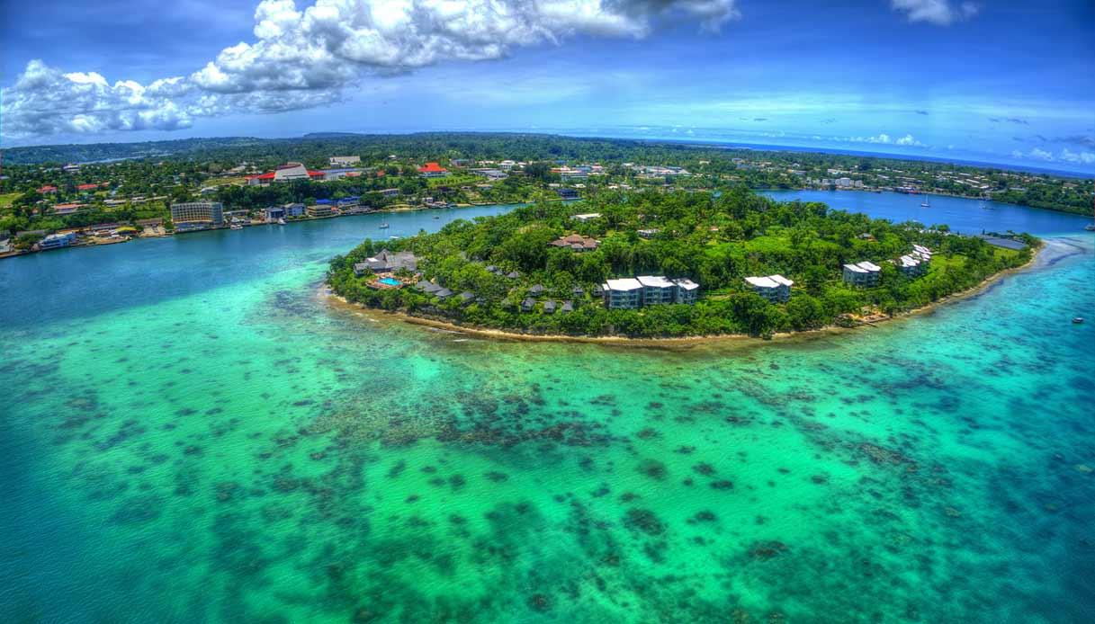 Un'isola delle Vanuatu