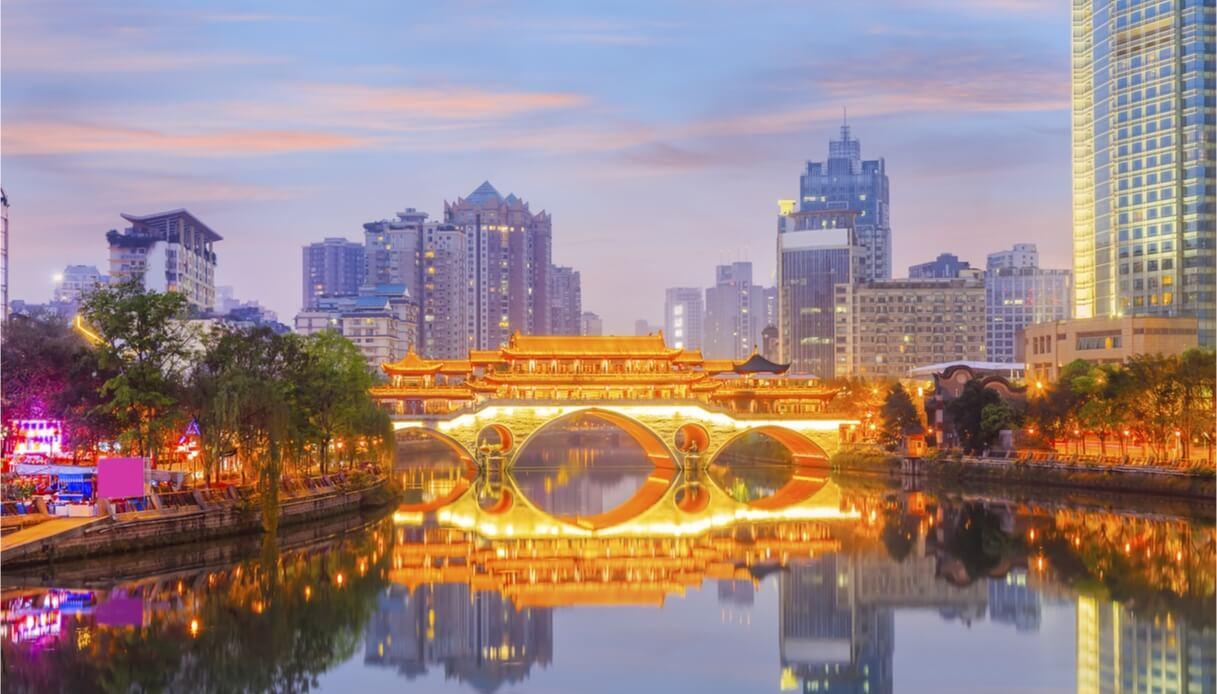 Chengdu in Cina