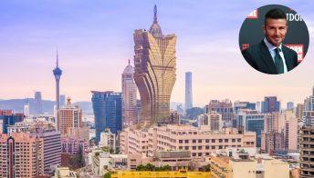 David Beckham apre il suo hotel a Macao