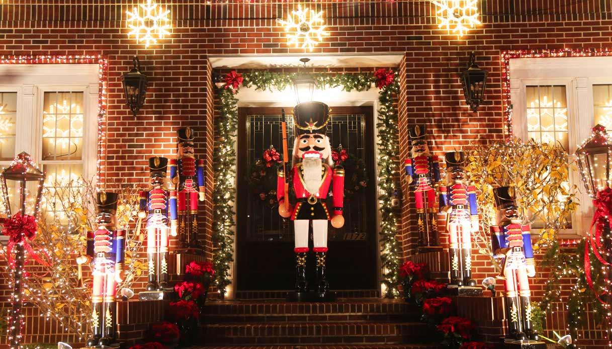 Addobbi Natalizi A New York.New York A Dyker Heights Il Natale Come Nelle Fiabe Siviaggia
