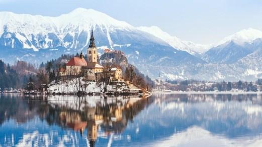 10 laghi d'Europa da visitare durante l'inverno