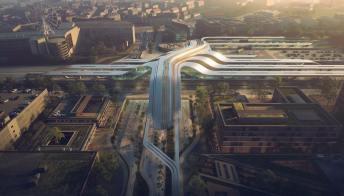 A Tallinn verrà costruita una stazione futuristica