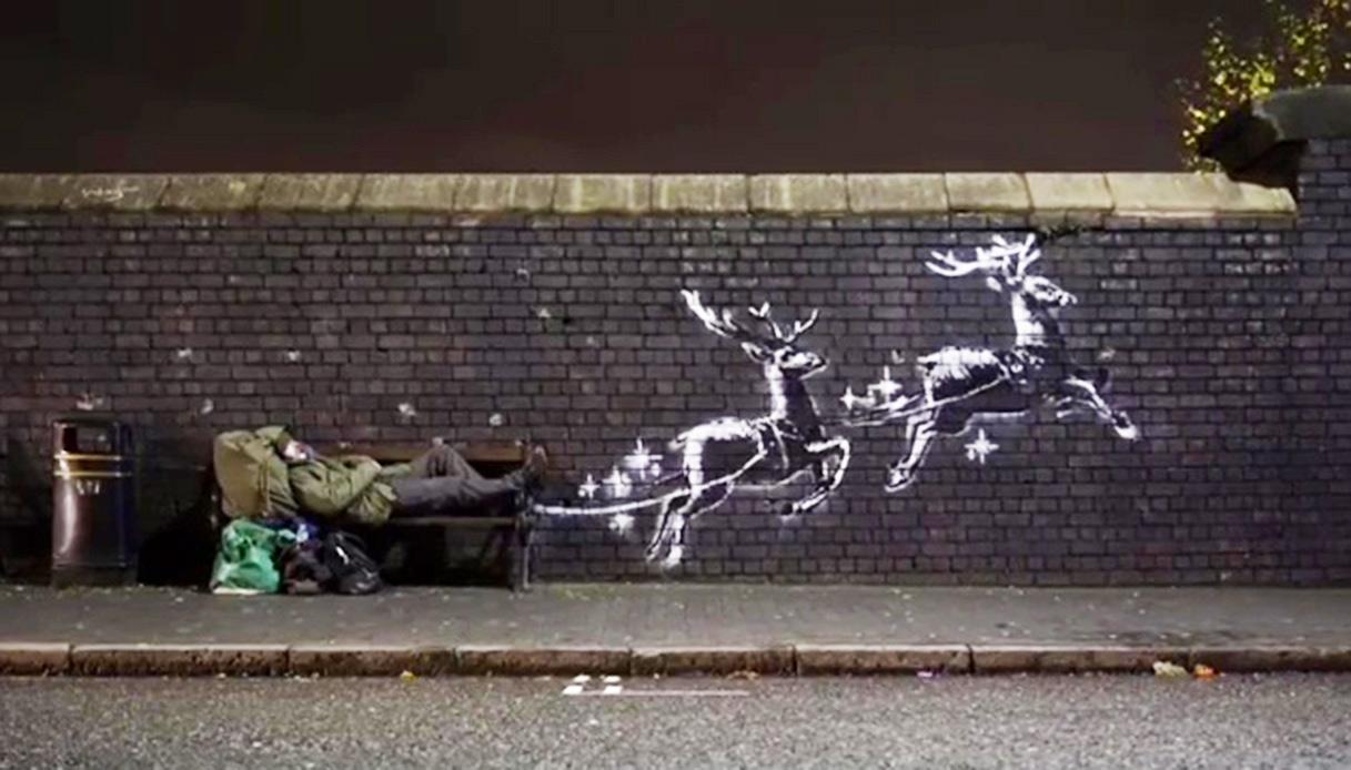 banksy-renne