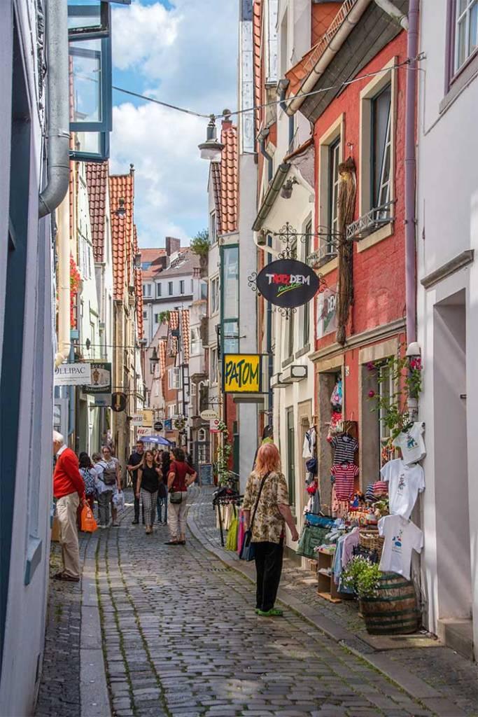 brema vie strette negozi germania positivitrip