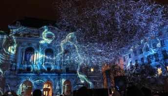 Il Festival delle luci accende Lione ed è subito magia