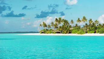 Maldive, l'atollo preferito dai vip per le vacanze invernali