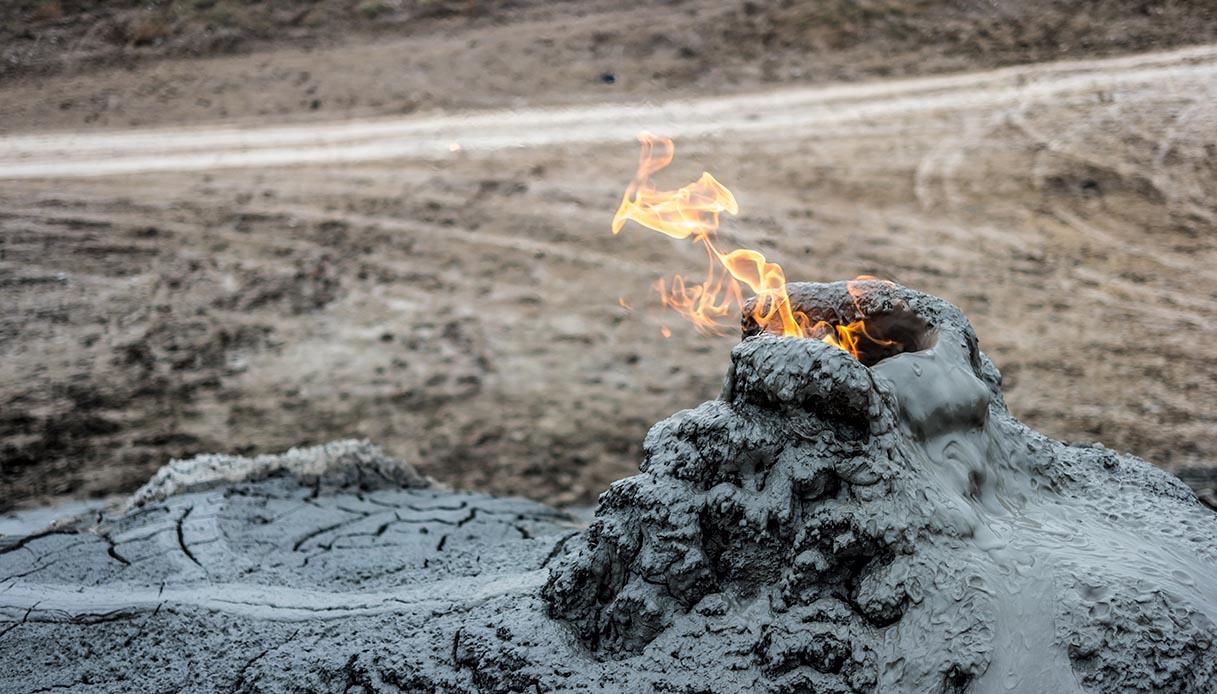 Questi vulcani, dalla lava di fango, sono unici al mondo
